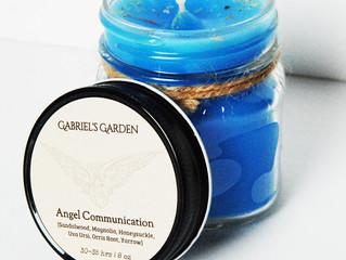Featured Candle: Gabriel's Garden Angel Communication