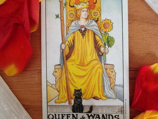 The Queen of Wands