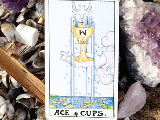 Card for the Weekend: Ace of Cups