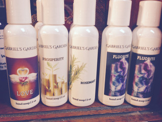 New Obsession: Gabriel's Garden Hand Soaps!