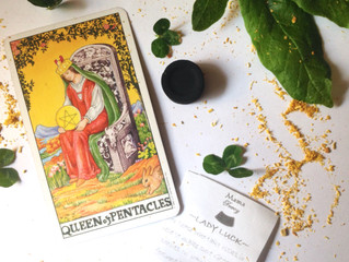 Lady Luck & The Queen of Pentacles