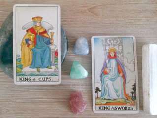 Energy Reading for the Week: The King of Cups and The King of Swords