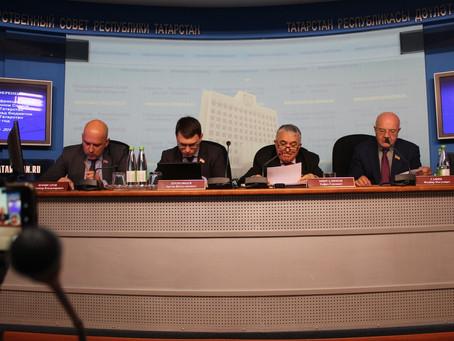 Пресс конференция фракции КПРФ
