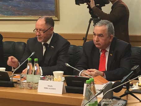 Визит делегации из Вьетнама в Государственный Совет Республики Татарстан