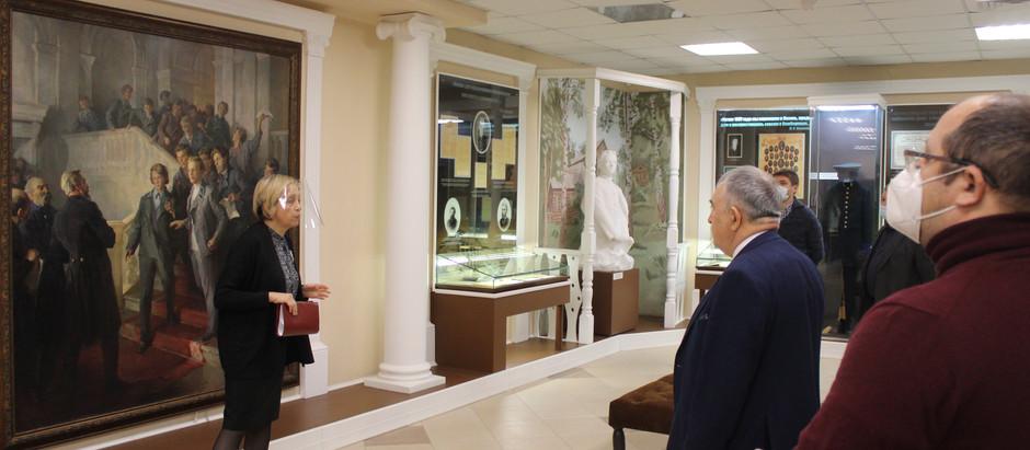 Мероприятие в память о сходке казанских студентовв Доме-музее В.И. Ленина.