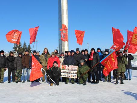 День празднования 103-ей годовщины со дня создания Красной Армии и Военно-Морского Флота СССР