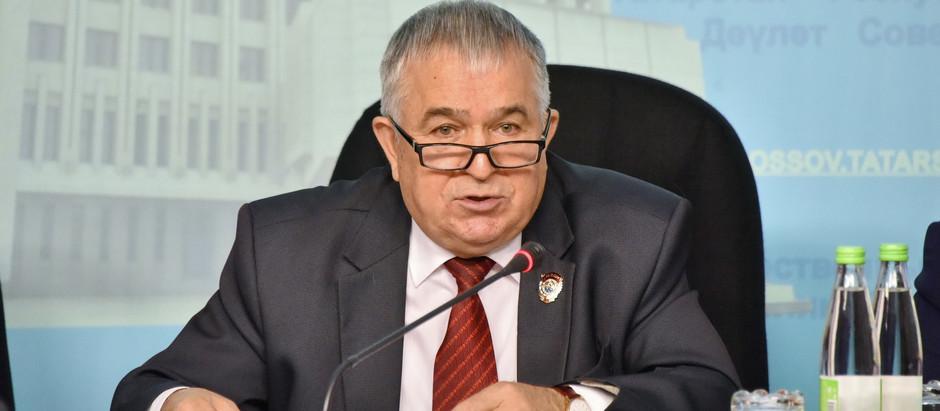 Пресс конференция фракции КПРФ в Государственном Совете республики Татарстан
