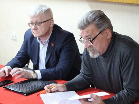 В Нижнекамске состоялся VII (совместный) Пленум Комитета и КРК Нижнекамского местного отделения КПРФ