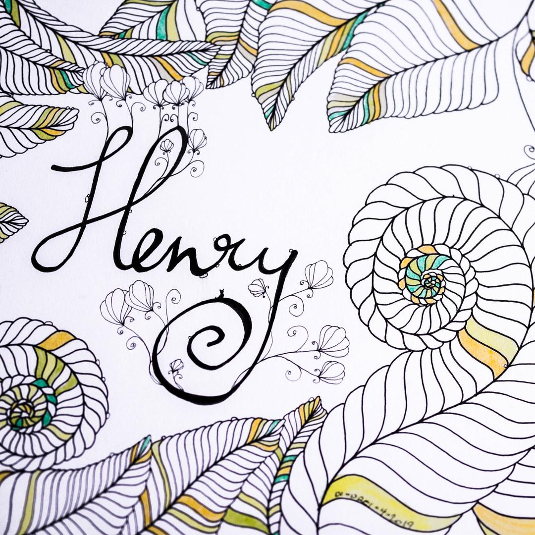 Handwriting Henry