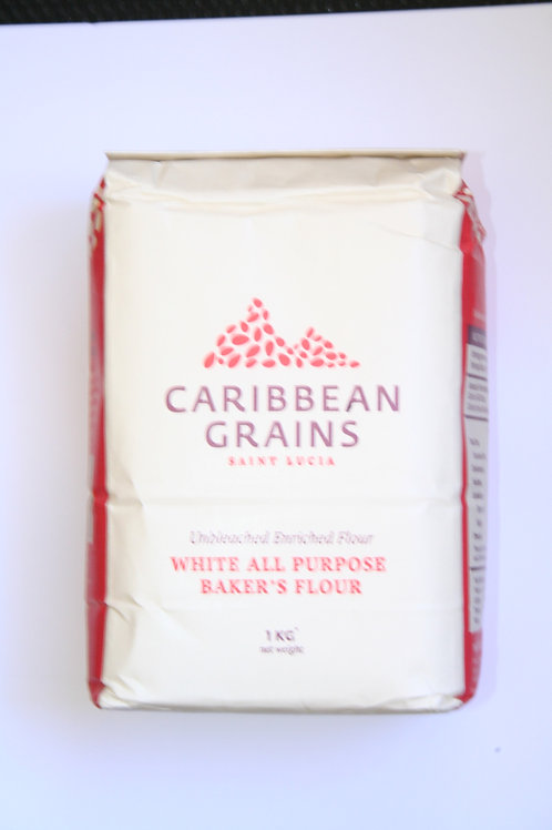 Caribbean  Grains White All Purpose Baker's Flour 1Kg