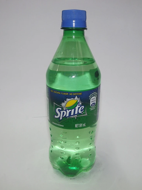 Sprite Lemon-Lime Taste  Bottle 591 ml