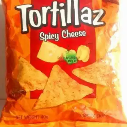 Holiday Tortillaz Spicy Chips 40g