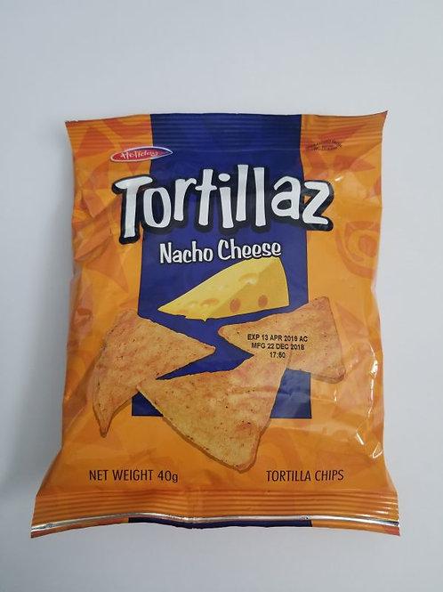 Holiday Tortillaz NachoCheese  Chips 40g