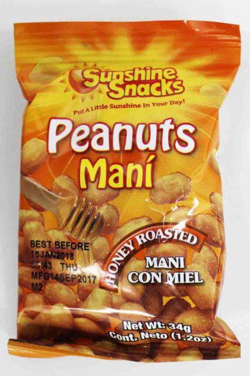Sunshine 34g Honey Roasted Peanuts