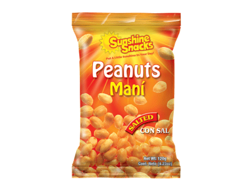 SUNSHINE SNACKS SALTED PEANUTS
