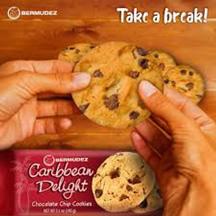 Bermudez Caribbean Delight Chocolate Chip Cookies  145g