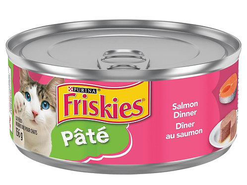 Purina Friskies Pate Salmon Dinner 156g