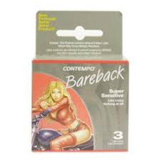 Contempo Condoms Bareback