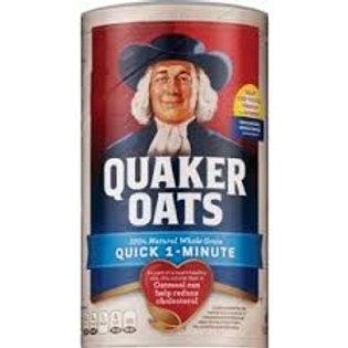 Quaker Oats 100% Whole Grain Oats 18 oz