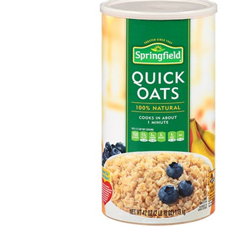 Spring Field Quick Oats 100% Whole Grain Oats 510g