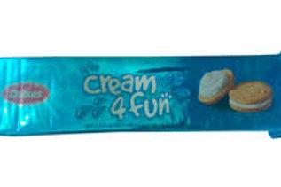 Dukes Cream 4 Fun Biscuit Vanilla Flavored Cream Sandwich Biscuits