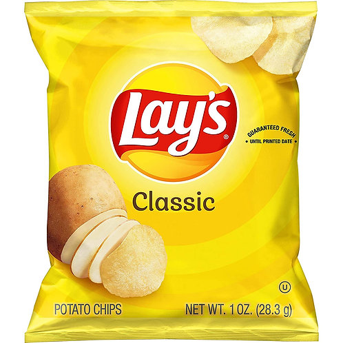 Lays Classic Potato Chips 1.0z