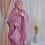 Thumbnail: Mukenah Silk Premium Sweet Lilac