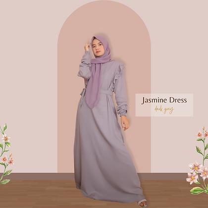 Jasmine Dress - Dark Grey