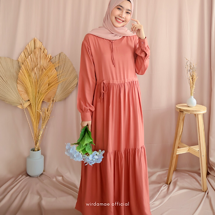 Lily Dress Coral