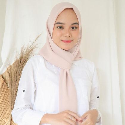 Hijab Square Premium Edition Beige
