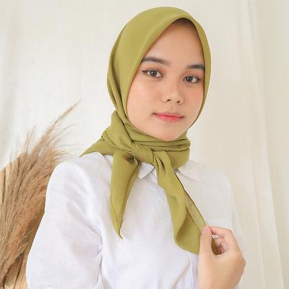 Hijab Square Premium Edition Lime