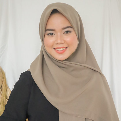 Hijab Square Vol.2 Taupe