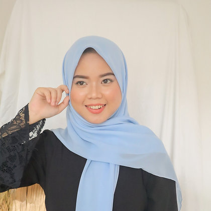 Hijab Square Vol.2 Blue Sky