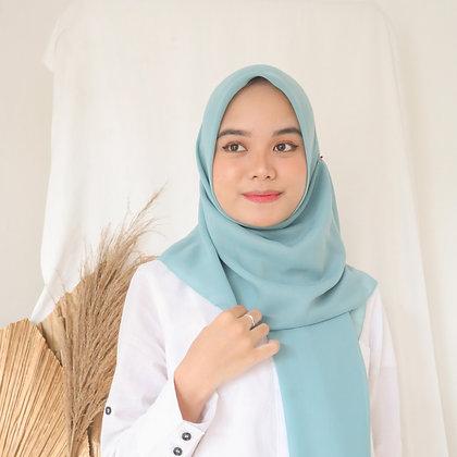 Hijab Square Premium Edition Baby Blue