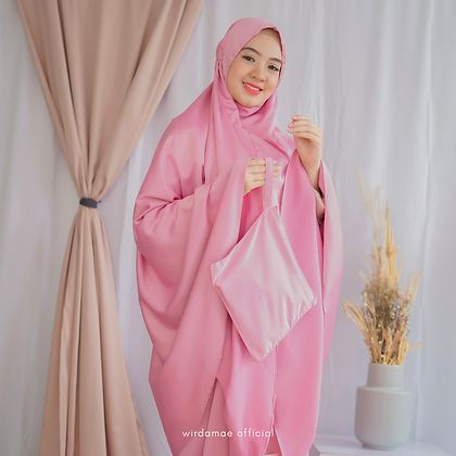 Mukenah Silk Premium Pink