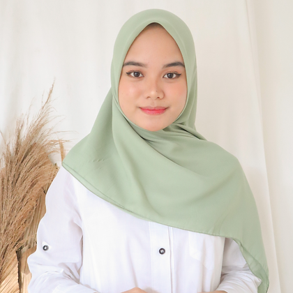 Hijab Square Premium Edition Honeydew