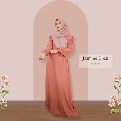 Jasmine Dress - Rosewood