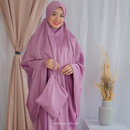 Mukenah Silk Premium Sweet Lilac