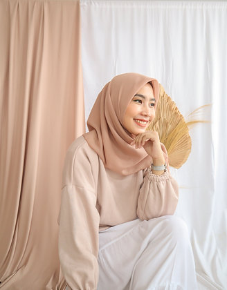 The New Hijab Square Premium (Nudes)