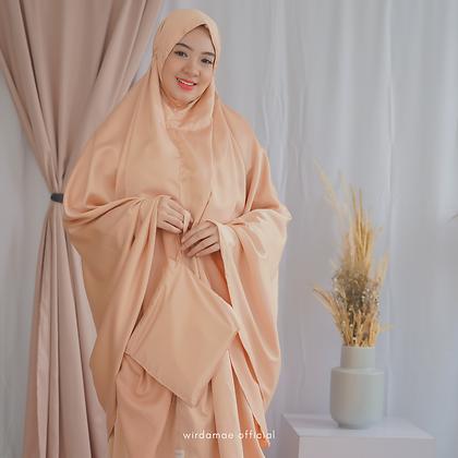 Mukenah Silk Premium Beige