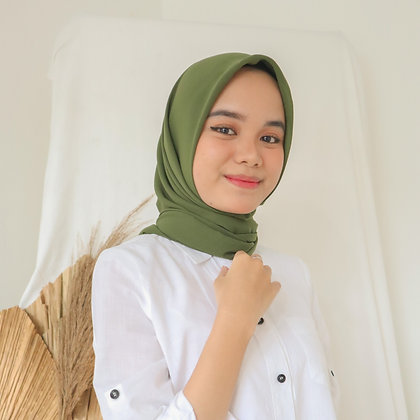 Hijab Square Premium Edition Army