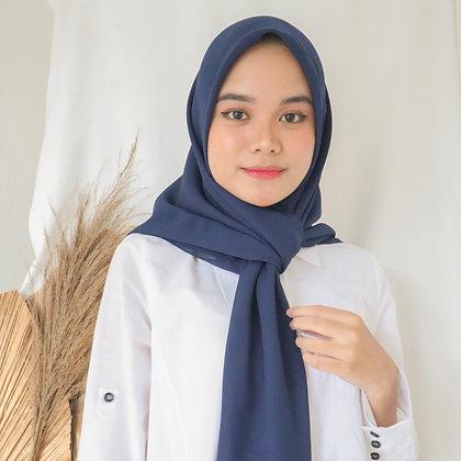 Hijab Square Premium Edition Navy
