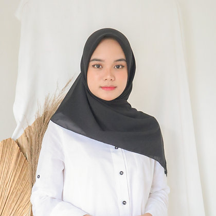 Hijab Square Premium Edition Black