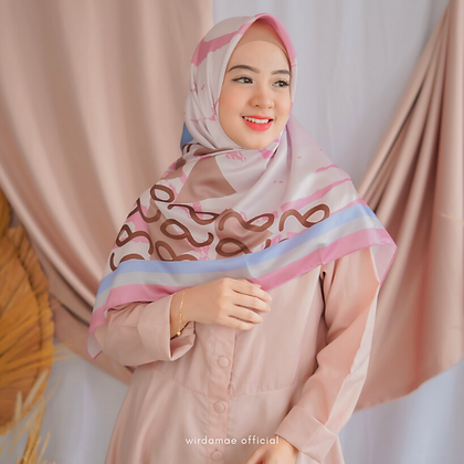 Hijab WM Premium On Fleek Pink