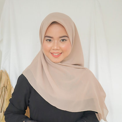 Hijab Square Vol.2 Soft Beige
