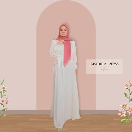 Jasmine Dress - White