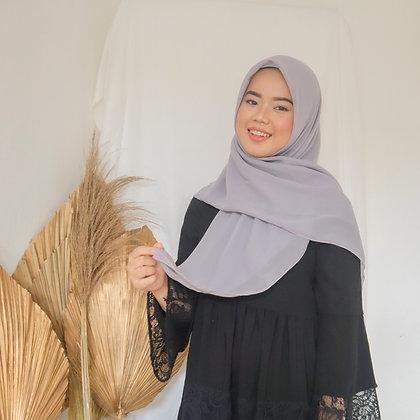 Hijab Square Vol. 2 Ash Gray