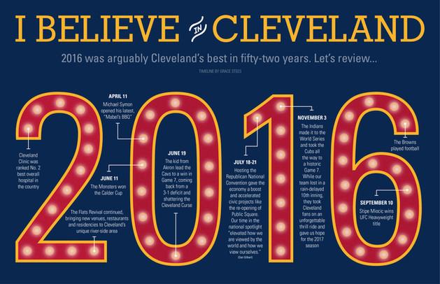 Cleveland's 2016 Timeline