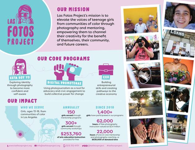 Las Fotos Project Impact Report 2019