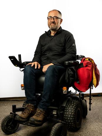 Steve Wheelchair Bag System - TOM Melbou
